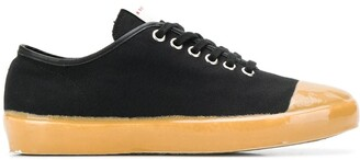 Marni Low-Top Canvas Sneakers