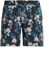 The Upside Stretch Back Dragon-print shorts