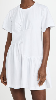 Marques Almeida Panelled Gathered Dress