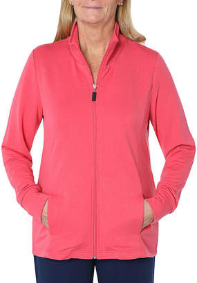 ST. JOHN'S BAY SJB ACTIVE Active French Terry Lightweight Track Jacket