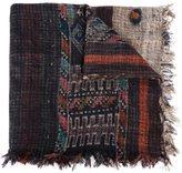 Pierre Louis Mascia Pierre-Louis Mascia frayed hem printed scarf
