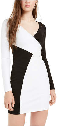 Bebe Colorblocked Bodycon Dress