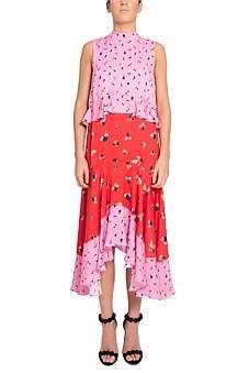 Rebecca Vallance Ruby Ruffle Dress