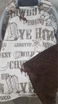 Etsy Carseat Tent - Cowboy Carseat Canopy, Western -Ready to Ship