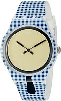 Swatch Men's SUOW118 Analog Display Swiss Quartz Multi-Color Watch