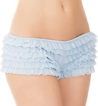 Coquette Women's Ruffled Rhumba Booty Short