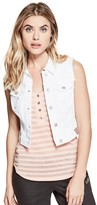 GUESS Women's Amery Denim Vest