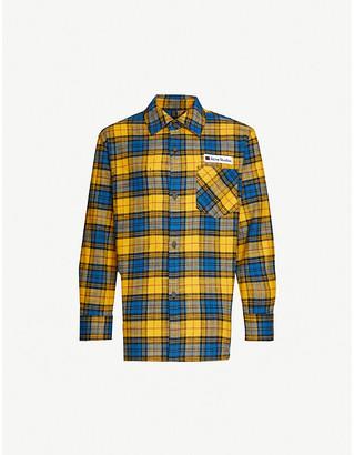 Acne Studios Salak plaid cotton shirt