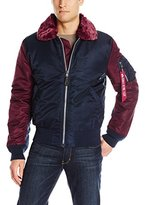 Alpha Industries Men's B-­-15 Wildcat Nylon Flight Jacket