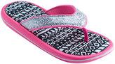 Girls 4-16 Tribal Molded Sport Flip Flops