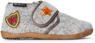 Naturino Toddler/Kids Boys) Grey Felt Chukka Boots