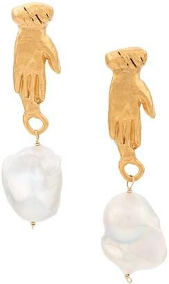 Alighieri The Curator of the Moon Earrings