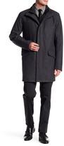 Andrew Marc Standford Wool Blend Coat