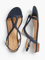 Talbots Keri Keyhole Sandals - Soft Leather