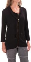 XCVI Shika Knit Jacket - 3/4 Sleeve (For Women)