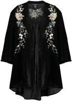 New Look EMBROIDERED Summer jacket black