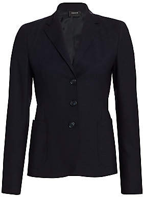 Akris Women's Galilea Stretch-Wool Jacket