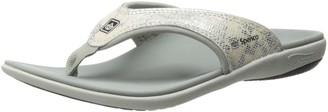 Spenco Women's Yumi Python Sandal