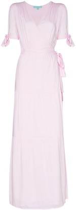 Melissa Odabash Emily wraparound maxi dress