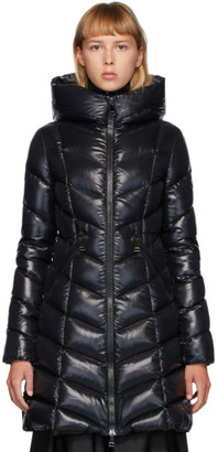 Moncler Black Down Marus Coat