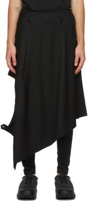 Comme des Garçons Homme Plus Black Blazer Skirt