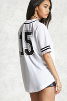 Forever 21 15 Graphic Baseball Jersey