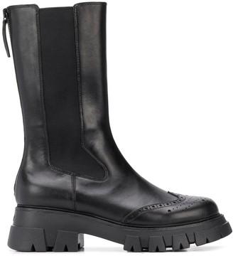 Ash Elasticated Combat Boots