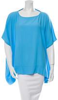 Diane von Furstenberg Oversize Short Sleeve Top