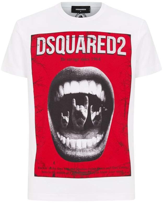 DSQUARED2 Be Savage Punk T-Shirt