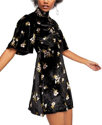 Free People Women's Casual Dresses BLACK - Black Be My Baby Mini Dress - Women