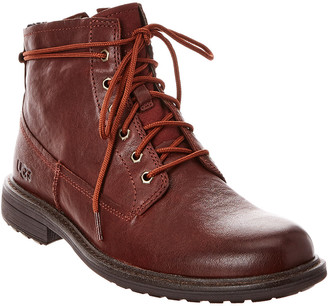 UGG Morrison Lace-Up Leather Boot