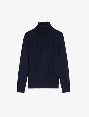 Sandro Turtleneck wool-blend jumper