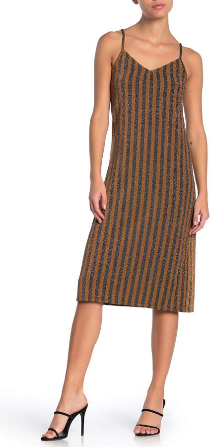 GOOD LUCK GEM Midi Slip Dress (Petite)