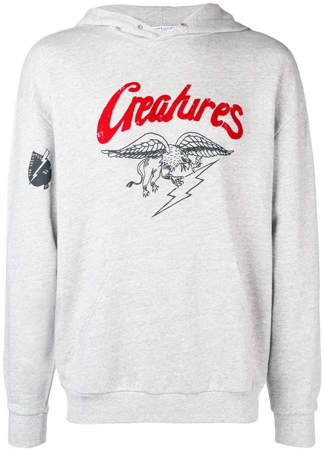 Givenchy Creatures hoodie