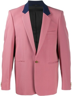 Paul Smith Contrast Lapel Suit Jacket