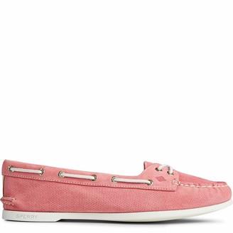Sperry Women's A/O Skimmer Pin Perf Nubuck Shoe