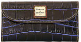 Dooney & Bourke Croco Fino Checkbook Organizer