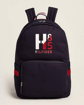 Tommy Hilfiger Navy Hayes Laptop Canvas Backpack