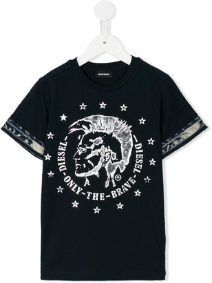 Diesel Only The Brave print T-shirt