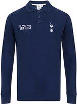 Tottenham Hotspur F.C. Tottenham Hotspur FC Official Gift Boys Long Sleeve Polo Shirt Navy
