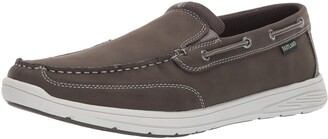 Eastland Men's Brentwood Boat Shoe Gray 12 D