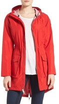 MICHAEL Michael Kors Women's Hooded Raincoat