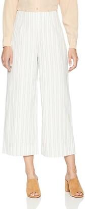 Rebecca Taylor Women's Stripe Crop Pant