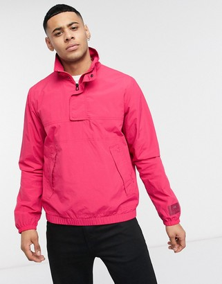Paul Smith overhead jacket in pink
