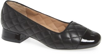 Bettye Muller Concepts Greta Quilted Leather Pump