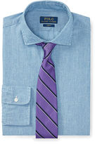 Polo Ralph Lauren Slim-Fit Chambray Dress Shirt