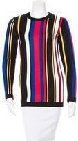 Balmain Striped Knit Sweater