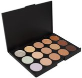 1 X Crazy Cart Professional 15 Color Makeup Cosmetic Concealer Camouflage Palette by KingMas