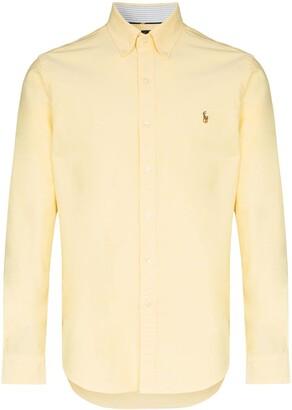 Polo Ralph Lauren Logo-Embroidered Button-Down Shirt
