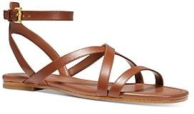 MICHAEL Michael Kors Women's Tasha Strappy Flat Sandals